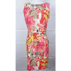 Alyx Sheath floral Dress Size 10 sleeveless